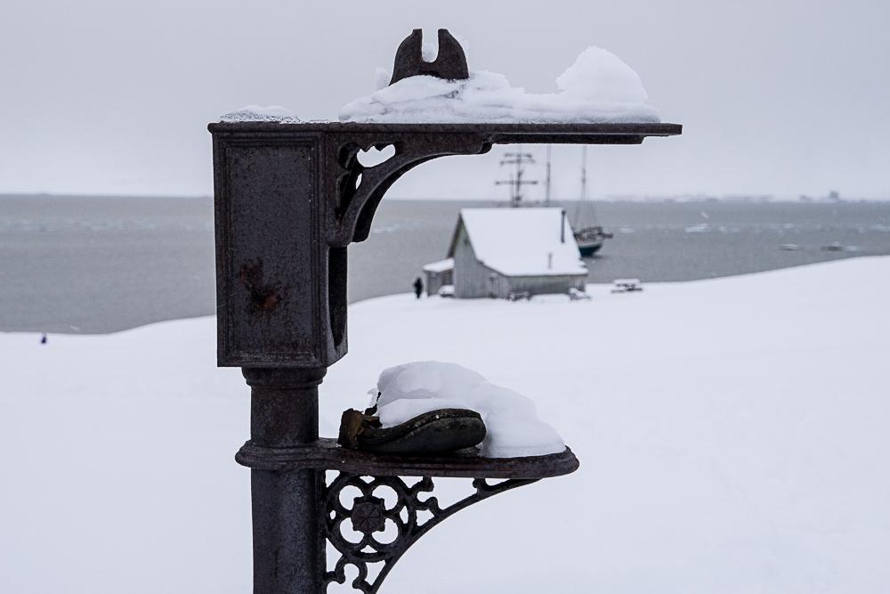 Oslo, Norway, snow, winter,Svalbard, Spitsbergen, Longyearbyen, The Arctic Circle, Arctic, Arctic Ocean, Esmarkbreen, Ymerbukta, ice, glacier, tall ship, Antigua, shoes, shoe last